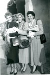 The Andrews Sisters at CBS Studios Hollywood in 1955
