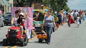 The march of time: Generations of Kiddie Parade participants keep tradition alive