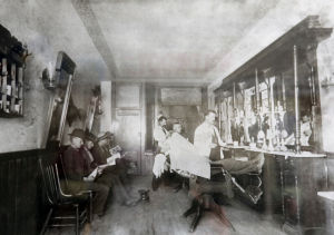Byron's Barber Shop ages to 120 years