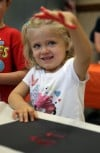 July Fourth crafts at the Portage Public Library