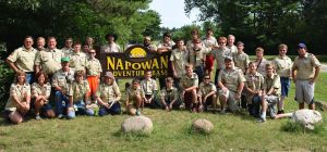 Dyer Boy Scouts earn honor award at Wisconsin summer camp