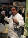 Chef Emeril Lagasse at the 2013 International Home and Housewares Show in Chicago at McCormick Place
