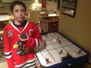 Evan Torbica is youth hockey's scoring machine