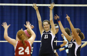 Calumet Christian improves to 29-3 with four-set volleyball win over host Bishop Noll