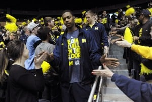 Michigan's Robinson, McGary pass on upcoming NBA draft