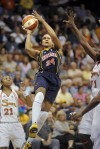 Tamika Catchings, Tina Charles, Renee Montgomery