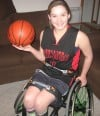Zoey Voris named MVP at Midwest Conference Wheelchair Championships