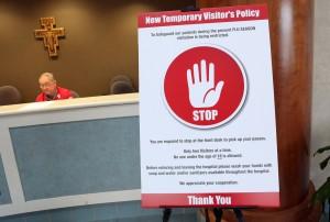 Flu fears restrict hospital visits