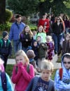 Valpo students stroll to school