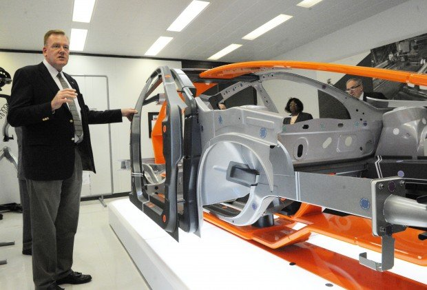 Steel industry touts high strength steel at auto shows