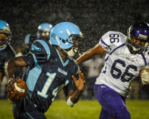 Falcons continue their winning ways, edge Meteors