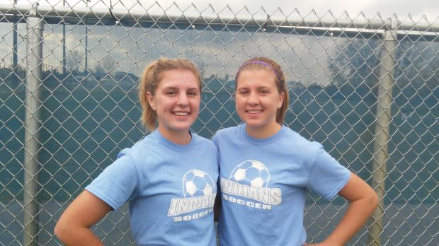 Triveline sisters helping Lake Central to soccer semistate