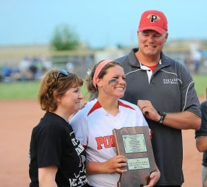 Portage's Hodges wins mental attitude award