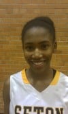 Seton girls basketball player Ebony Bailey