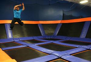 Trampoline fun center opening in Schereville