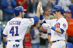 Coghlan two homers lead Cubs over Dodgers