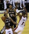 Leonard, record half help Spurs roll