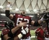 Falcons players celebrate