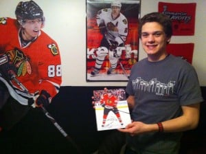 Entrepreneurial Dyer teen has a popular Blackhawks Facebook page