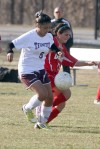 Bremen and T.F. United do battle in girls soccer action