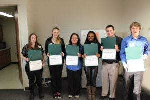Scholarship recipients presented at PSC