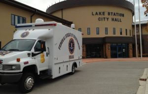 Federal agents execute search warrant at Lake Station City Hall