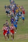 Boys cross country runners