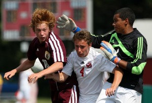 Chesterton blanks Munster in boys soccer