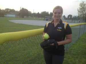 ABC Fastpitch's Lexi Funk leads by example