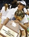 Late lay-in lifts Irish over UConn for women's Big East tournament title
