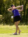 Merrillville's Maggie Connelly having great fun on the golf course
