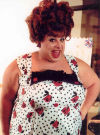 "Divine as Edna Turnblad in the 1988 John Waters Film ""Hairspray"""