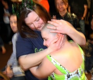 8-year-old girl organizes St. Baldrick's event