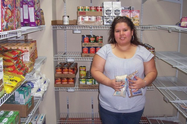 Home and garden show to collect food donations for homeless portage