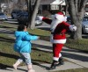 Santa delivers in Calumet City
