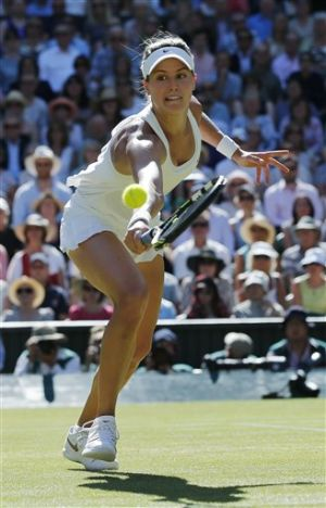 Bouchard gives Canada a slam finalist at Wimbledon