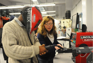 South Suburban College opens new welding lab