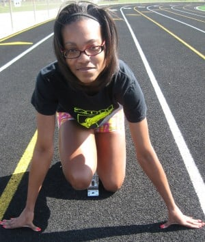 Chesterton's Jordyn Kincy has developed into one of the area's top sprinters