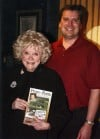 Comedienne Phyllis Diller and Times Columnist Philip Potempa in 2006