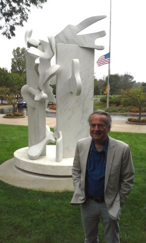 9/11-themed sculpture dedicated at Purdue North Central