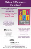 Spring into action by volunteering