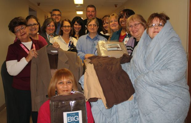 Hospital makes a gift of warmth