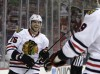 Hawks head home after win over Blue Jackets