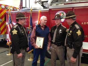 Pence honors public safety personnel
