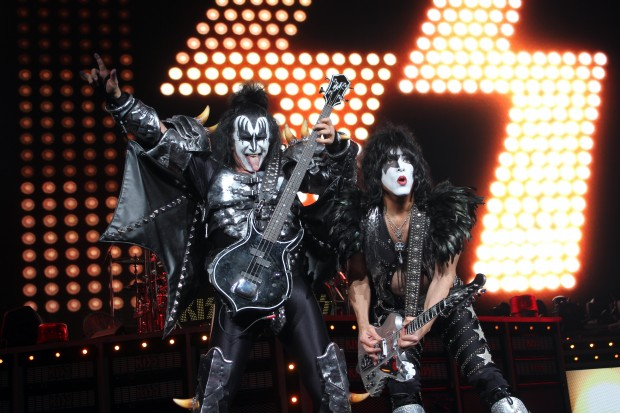 KISS gets in, finally