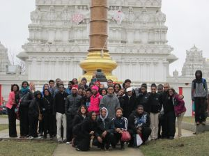 Seton Academy seniors tour places of worship