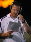 Zac Wells, Merrillville FB coach