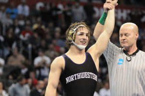 Crown Point grad Jason Tsirtsis wins NCAA championship at 149 pounds for Northwestern