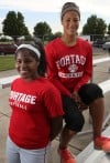 Portage High School twins Jalise and Jade McKnight