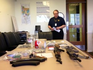 Lake Co. cops seize guns, drugs in Gary raids